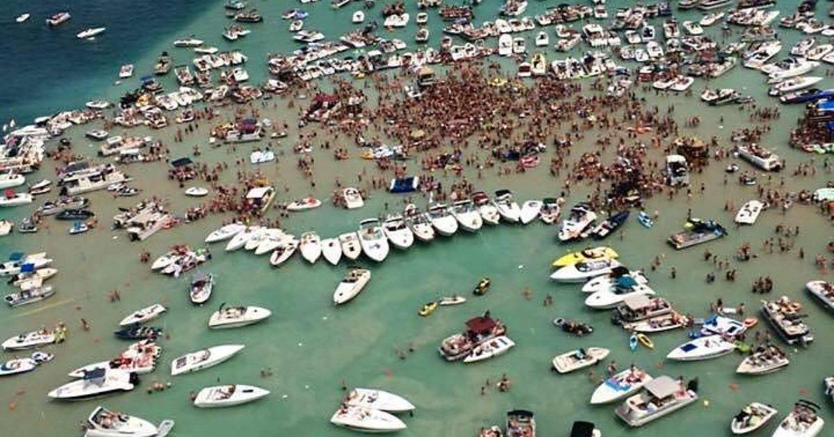 Bad News For Torch Lake Sandbar Parties Is This The End