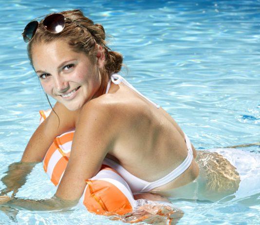Aqua Leisure Monterey Hammock Pool Float, One Size, Orange