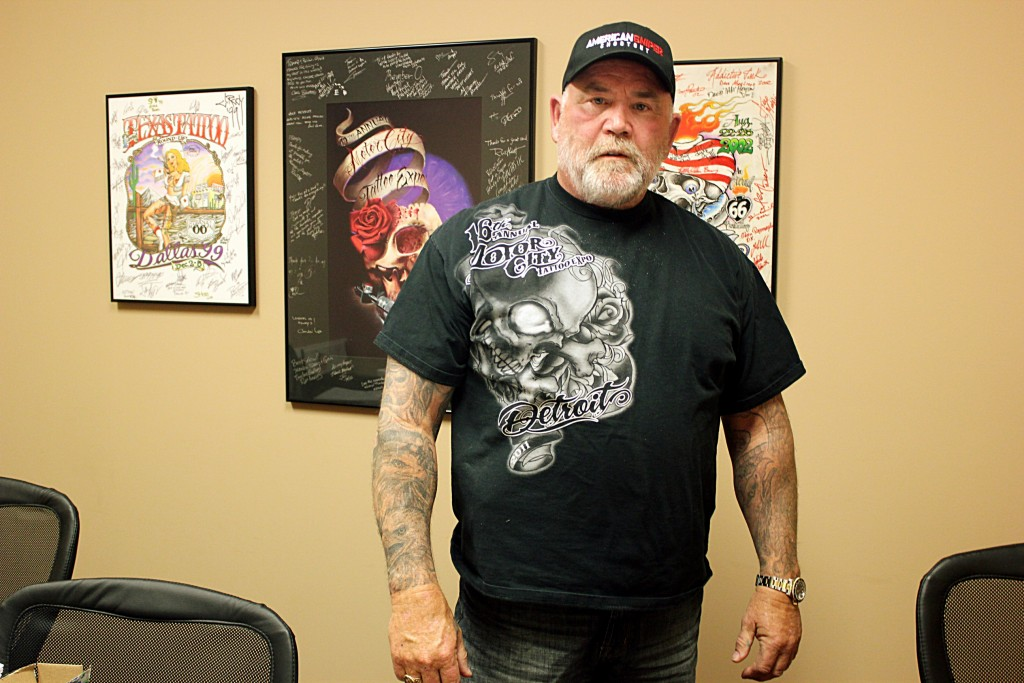 Exclusive interview tattoo industry legend owner of for Detroit tattoo convention 2017